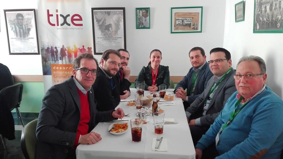 2017-02-23 Almuerzo TIXE (nuestra mesa)