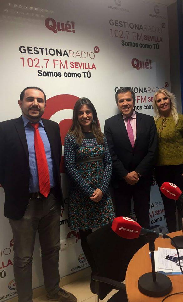 2017-03-02 Entrevista en Gestiona Radio (Grupal)