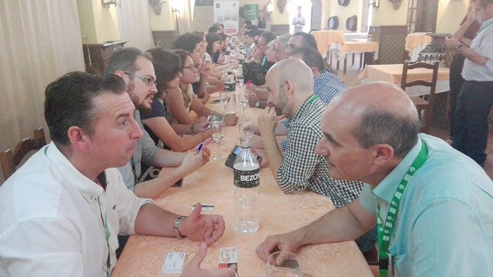 2017-06-08 En Santiponce en un Speed Networking