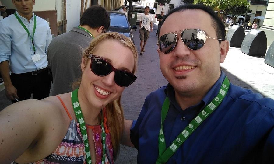 2017-06-08 Encuentro AJE y Prodetur María Ríos y Eduardo Torres