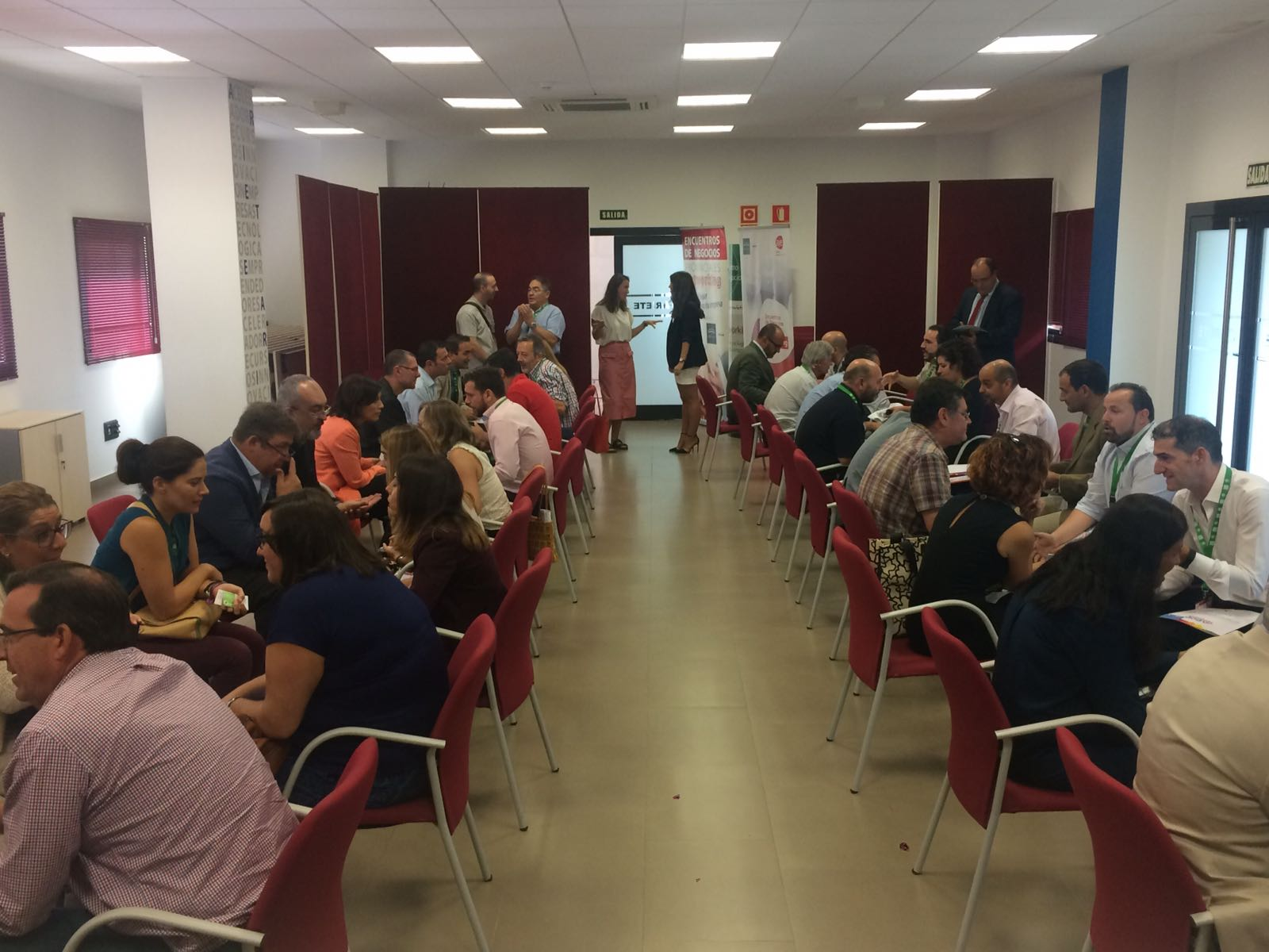 2017-09-28 Prodetur y AJE - Speed Networking