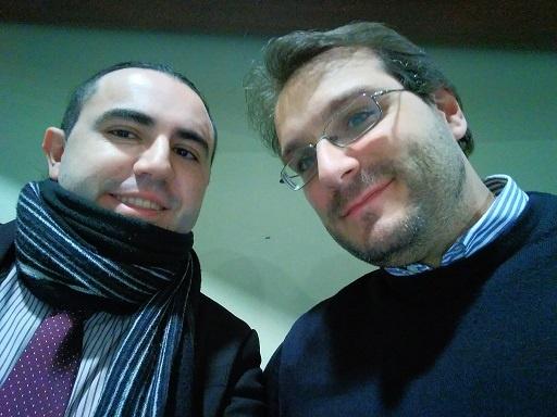 Eduardo Torres Chacón y Pablo Paz Reche