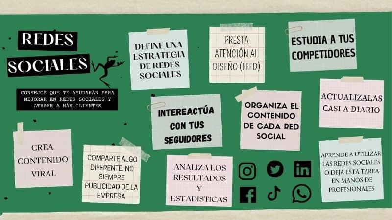Consejos para mejorar la estrategia en Redes Sociales