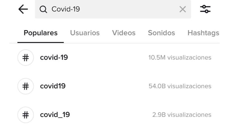 TikTok COVID-19